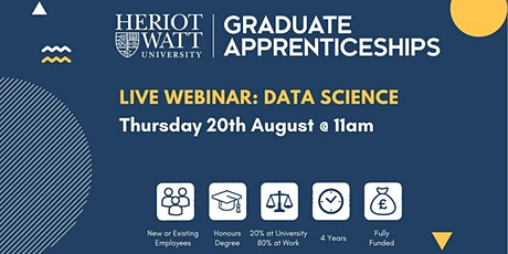 Graduate Apprenticeships: Data Science webinar tickets