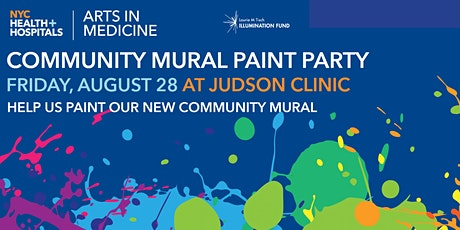 NYC Health + Hospitals/Judson Community Mural Paint Party tickets