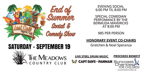 """""""Last Call Before Fall"""" End Of Summer Social & Comedy Show tickets"""