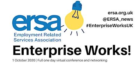 Enterprise Works! An ERSA E-conference tickets