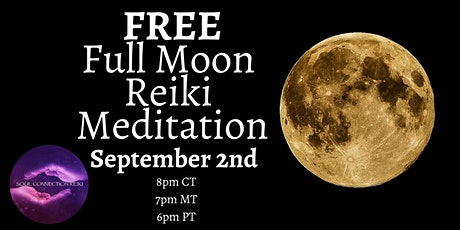 Full Moon Reiki Meditation with Gina Forbes tickets