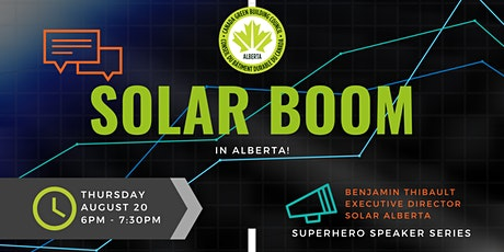 Solar Boom in Alberta tickets