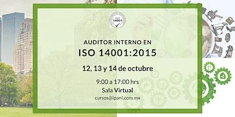 Auditor Interno en ISO 14001:2015 entradas