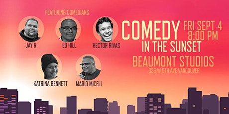 Comedy in the Sunset tickets