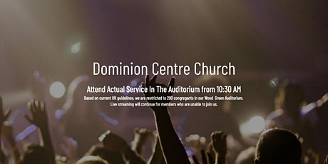 Attend Sunday Service In Dominion Centre's Auditorium tickets