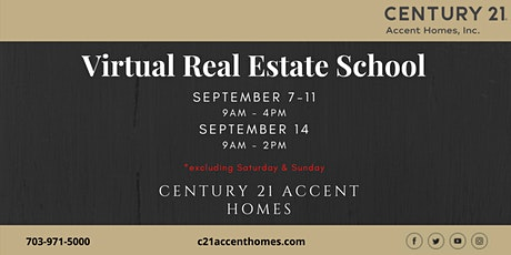 Real Estate School for September tickets