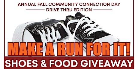 DRIVE THRU EDITION FREE FOOD & SHOES GIVEAWAY tickets