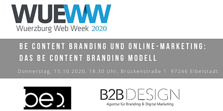 Das be content Branding Modell Tickets