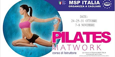 """CORSO MSP ITALIA """"ISTRUTTORE METODO PILATES MATWORK""""-CAGLIARI"""