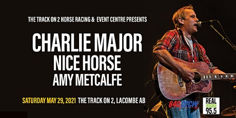 Charlie Major LIVE in concert with Nice Horse and Amy Metcalfe