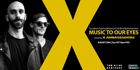 Music to Our Eyes Featuring X Ambassadors tickets