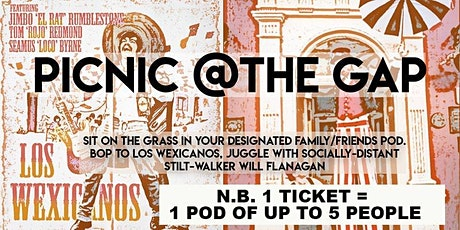 Picnic @ The Gap Bring the family, a blanket and basket -live outdoor music tickets