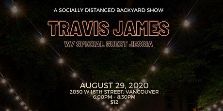 Travis James w/ special guest Jessia tickets