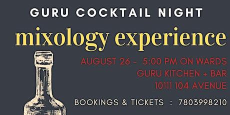 COCKTAIL NIGHT at GURU tickets