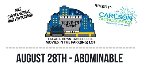 Movies in the Park(ing) Lot - Abominable tickets