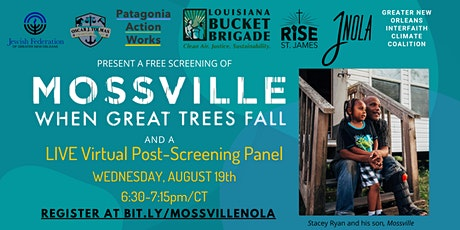Free Screening of Mossville + LIVE Virtual Panel tickets
