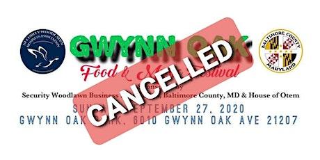 Gwynn Oak Food & Music Festival 2020 tickets