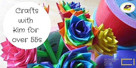 Crafts with Kim for Over 55s tickets