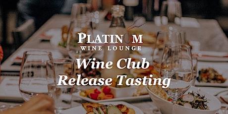 August Platinum Wine Club Tasting Reservation tickets