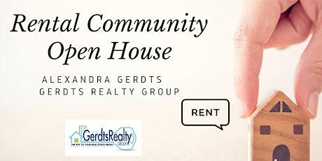 Rental Community Open House tickets