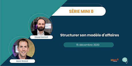 Mini8 - Structurer son modèle d'affaires grâce au Business Model Canvas tickets