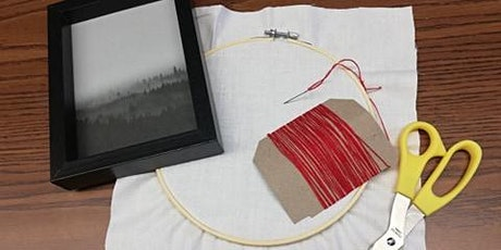 Let's Create: Framed Embroidery tickets