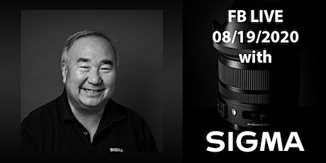 Facebook LIVE with Sigma's Brian Matsumoto! Tickets