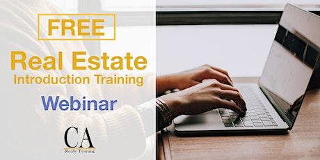 Free Real Estate Intro Session - Alhambra biglietti