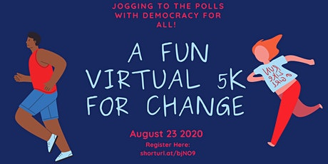 Jogging to the polls: Free Virtual 5K  tickets