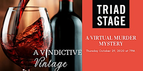 A Vindictive Vintage..a Virtual & Interactive Murder Mystery Party ingressos