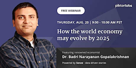 How the world economy may evolve by 2025 [Free Webinar] tickets