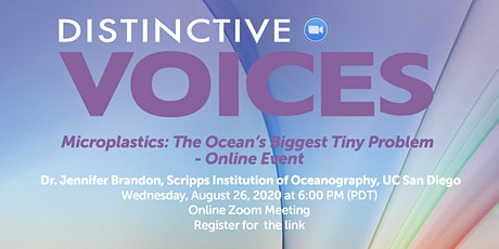 Online Event - Microplastics: The Ocean's Biggest Tiny Problem tickets