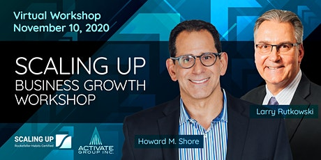 Scaling Up Business Growth Workshop - VIRTUAL Half Day Intensive tickets