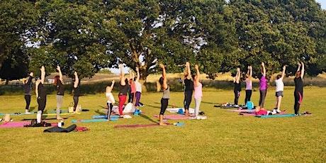 Outdoor Community Yoga - Monday (Week 3) tickets