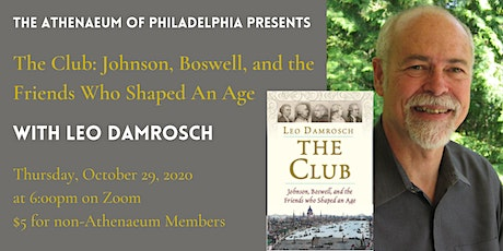 The Club: Johnson, Boswell, and the Friends Who Shaped An Age tickets