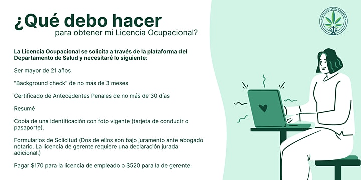 Licencia Ocupacional | Online (dos días) image