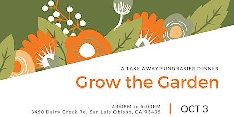 Grow the Garden - A Take Away Fundraiser Dinner tickets