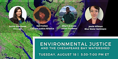 Environmental Justice and the Chesapeake Bay Watershed tickets
