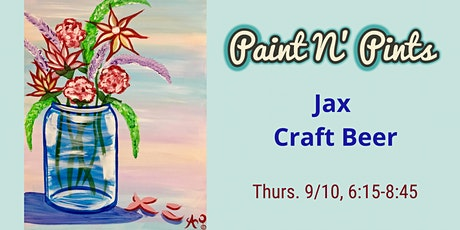 Paint N' Pints at Jax Craft Beer tickets