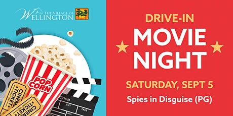 Drive-In Movie Night: Spies in Disguise (PG) tickets