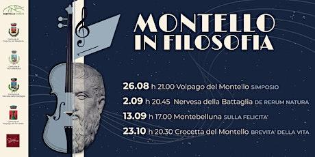 Montello in Filosofia | La brevità della vita di Seneca biglietti