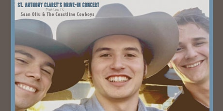 Sean Oliu & The Coastline Cowboys Drive In Concert   for  St Anthony Claret tickets