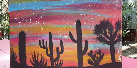 Cactus Paint Party with Fierce Face by Luz tickets