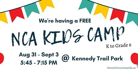 NCA Kids Camp @ Kennedy Trail Park tickets