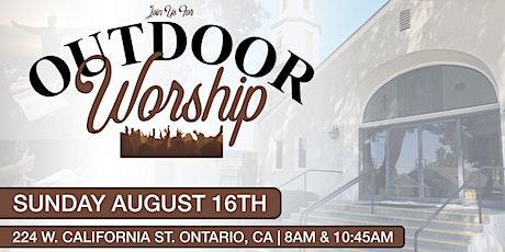 Outdoor Sunday Morning Worship (10:45 AM) tickets