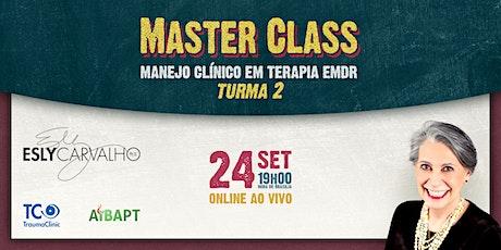 Master Class — Manejo Clínico em Terapia EMDR (em português) ingressos