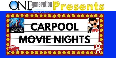 ONEgeneration Carpool Movie Nights - Ferris Bueller's Day Off (9/25) tickets