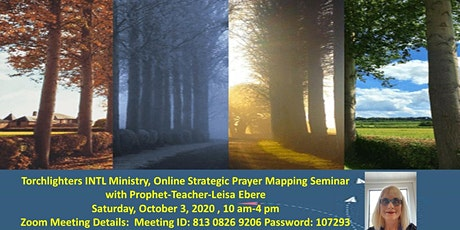 Strategic Prayer Mapping Zoom Seminar tickets