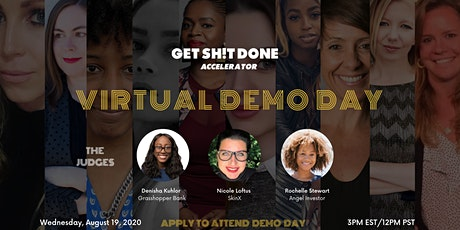 Get Sh!t Done Accelerator Demo Day tickets