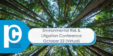 Environmental Risk & Litigation Conference (Virtual) tickets